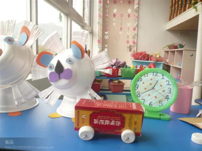 宝宝创意环保手工作品